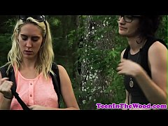 Девушки за деньги в лесу 11